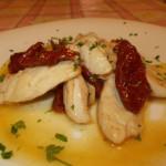 Straccetti di pollo con pomodori rustici