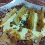 Sbriciolata con crema al mascarpone