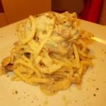 Tonnarelli gorgonzola e noci